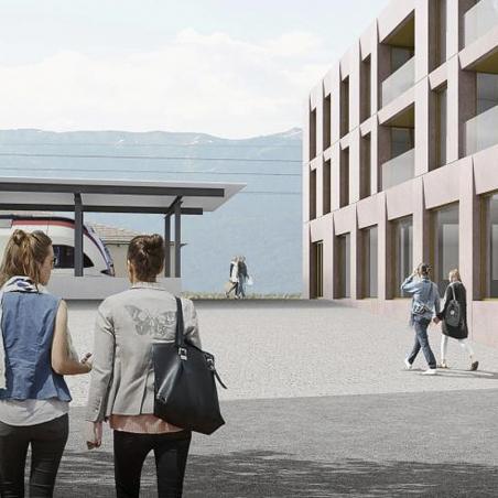Découvrez Le développement du quartier de la Gare